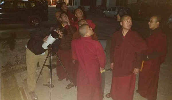 Scientific education essential for monks say scientists